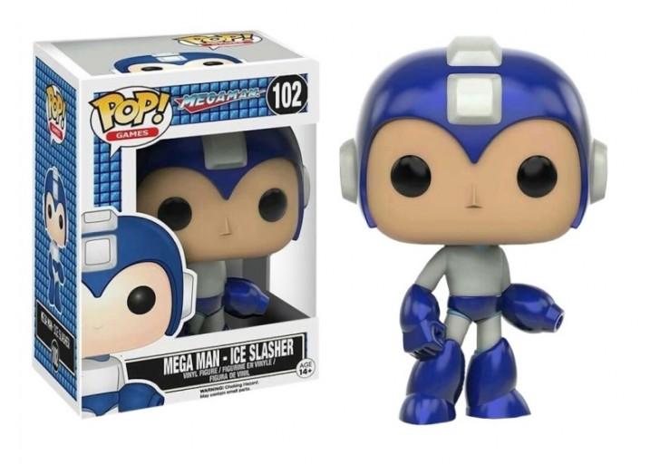 """Pop! Фигурка Ледяного Мегамена из игры """"Mega Man"""""""