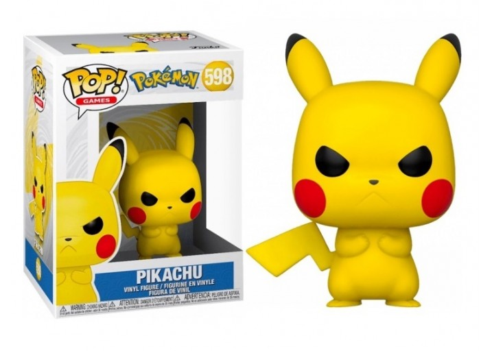 "Pop! Фигурка сердитого Пикачу из аниме ""Покемон"""
