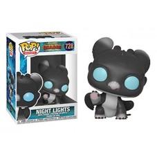"""Pop! Фигурка Ночного Огонька с голубыми глазами из мультика """"Как приручить дракона"""""""