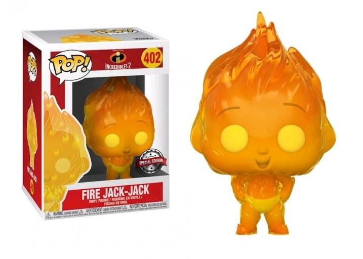 """Pop! Фигурка огненного Джек-Джека из мультфильма """"Суперсемейка"""""""
