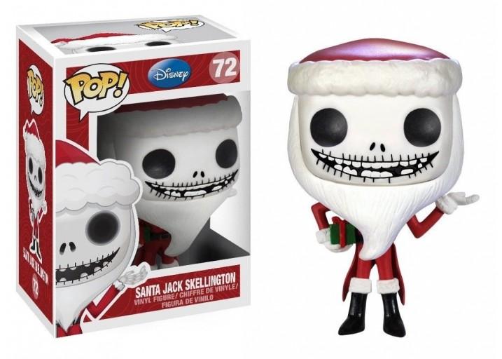 Pop! Фигурка Джека Скеллингтона в костюме Санта-Клауса
