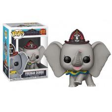 Pop! Фигурка слонёнка Дамбо в костюме пожарного