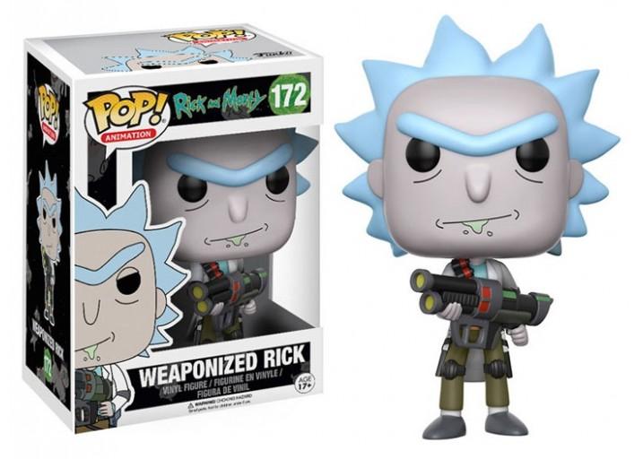 """Pop! Фигурка Рика с оружием из мультсериала """"Рик и Морти"""""""