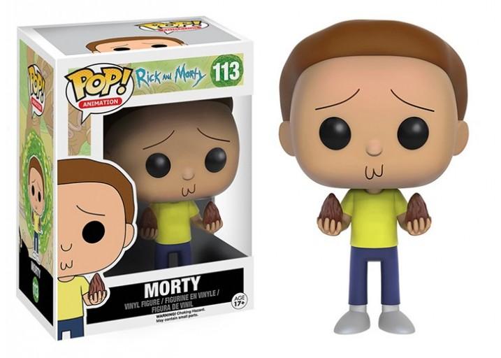 """Pop! Фигурка Морти с семенами из мультсериала """"Рик и Морти"""""""