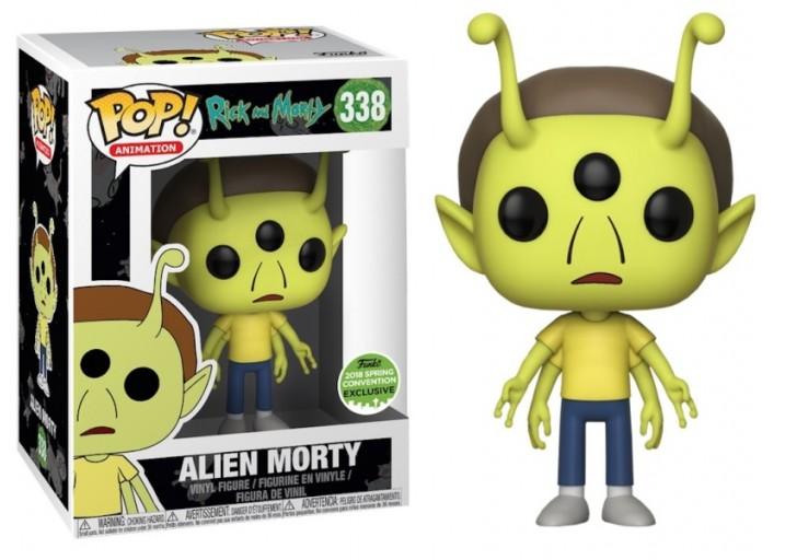 """Pop! Фигурка Инопланетного Морти из мультсериала """"Рик и Морти"""""""