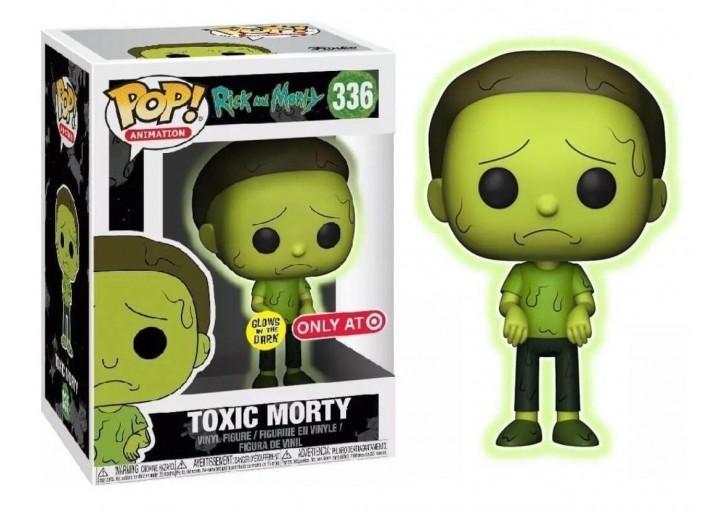 "Pop! Фигурка Токсичного Морти из мультсериала ""Рик и Морти"""