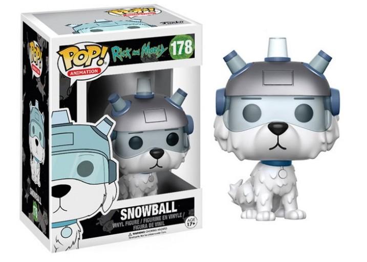 """Pop! Фигурка пёсика Снежка из мультсериала """"Рик и Морти"""""""