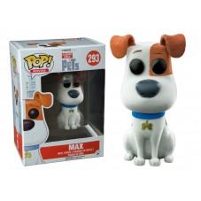 """Pop! Флокированная фигурка Макса из """"Тайная жизнь домашних животных"""""""