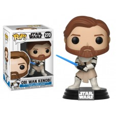 """Pop! Фигурка Оби-Вана Кеноби из """"Звёздные войны: Войны клонов"""""""