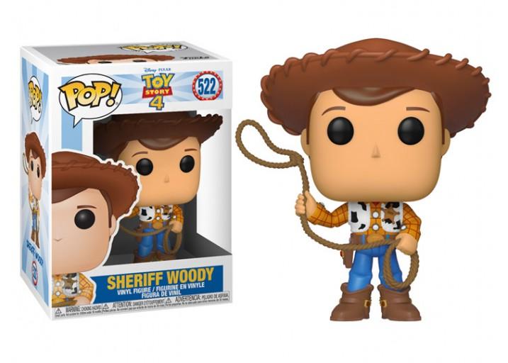 """Pop! Фигурка Шерифа Вуди из мультфильма """"История игрушек 4"""""""