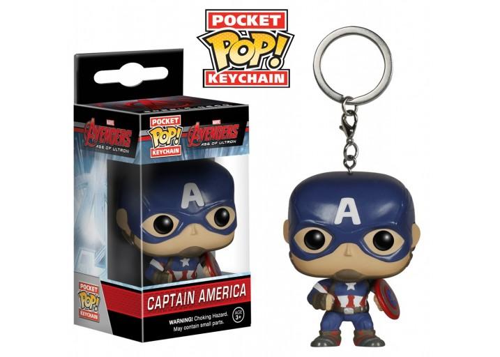 """Pop! Брелок Капитан Америка из фильма """"Мстители"""""""