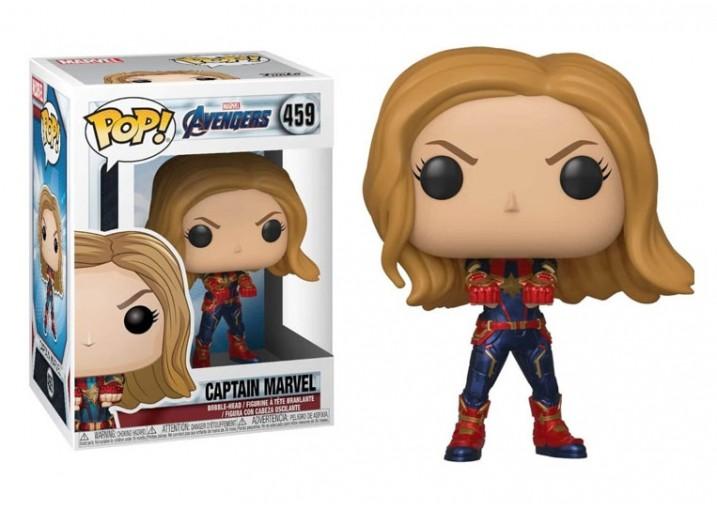 "Pop! Фигурка Капитана Марвел из фильма ""Мстители: Финал"""