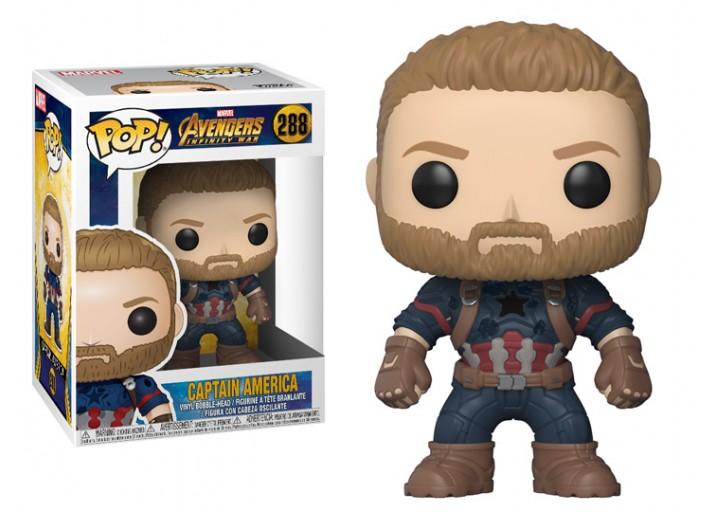 """Pop! Фигурка Капитана Америка из """"Войны бесконечности"""""""