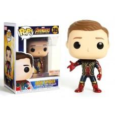 """Pop! Фигурка Железного паука без маски из """"Войны бесконечности"""""""