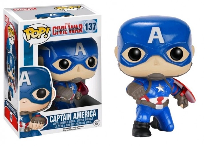 Pop! Фигурка Капитана Америка на одном колене