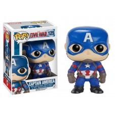 """Pop! Фигурка Капитана Америка из """"Первый мститель: Противостояние"""""""