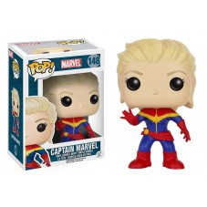 Pop! Фигурка Капитана Марвел без маски из комиксов Marvel