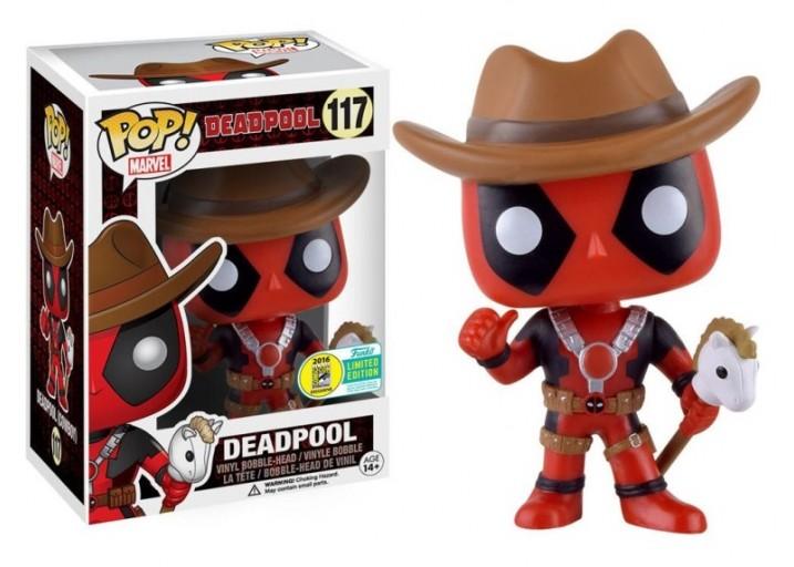 Pop! Фигурка Дэдпула в ковбойской шляпе