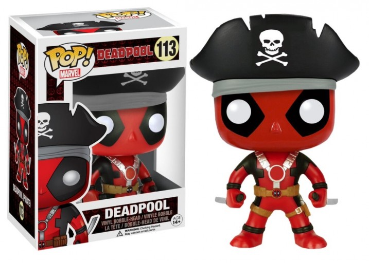 Pop! Фигурка Дэдпула в пиратской шляпе