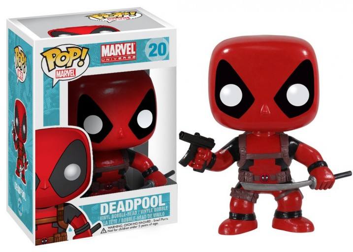 Pop! Фигурка Дэдпула из комиксов Marvel