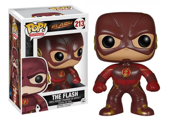 "Pop! Фигурка Флэша из сериала ""The Flash"""