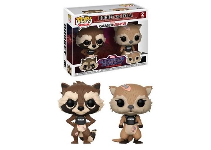 """Pop! Фигурки Ракеты и Лиллы из игры """"Guardians of the Galaxy"""""""