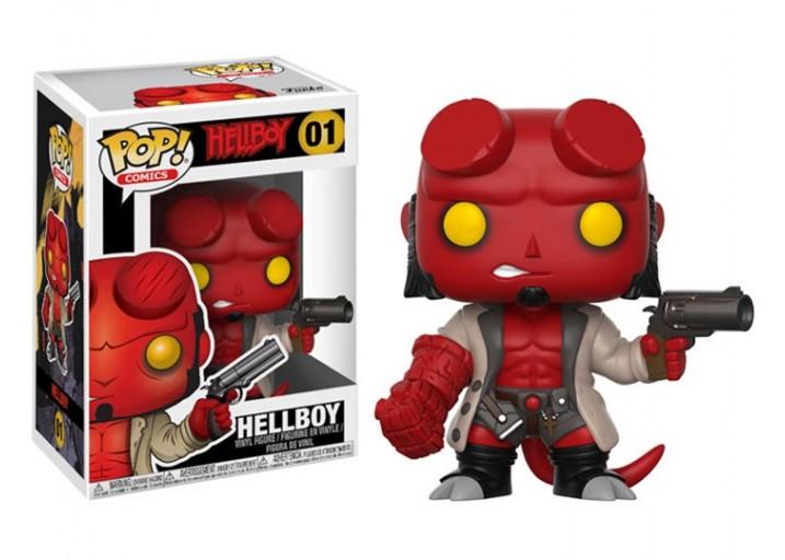 """Pop! Фигурка Хеллбоя без рогов по фильму """"Hellboy"""""""