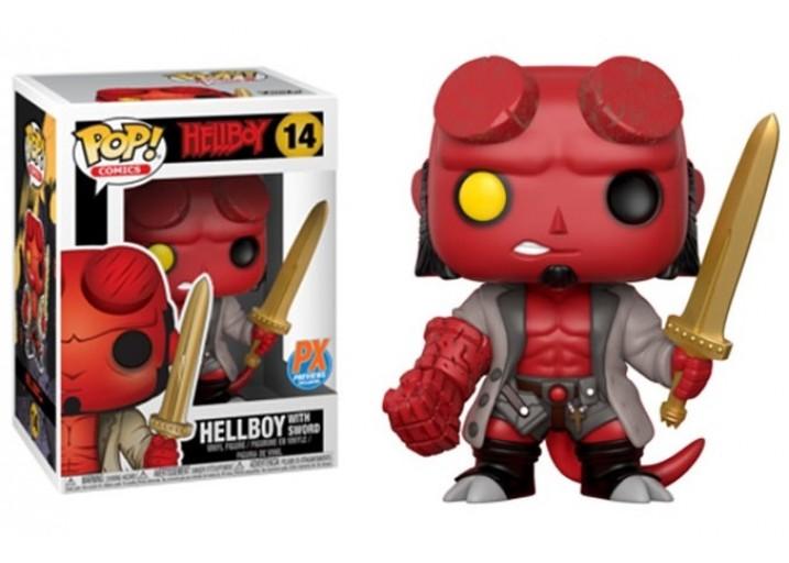 """Pop! Фигурка Хеллбоя с мечом по фильму """"Hellboy"""""""