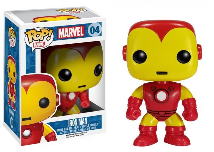 Pop! Фигурка Железного человека из комиксов Marvel