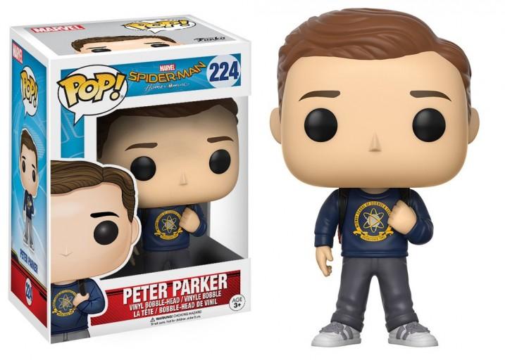 """Pop! Фигурка Питера Паркера из """"Человек-паук: Возвращение домой"""""""