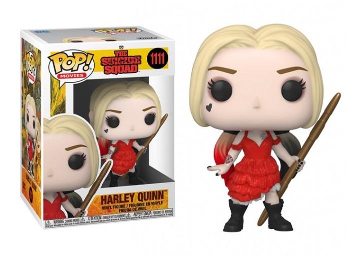 """Pop! Фигурка Харли в порванном платье из """"Отряд самоубийц 2"""""""