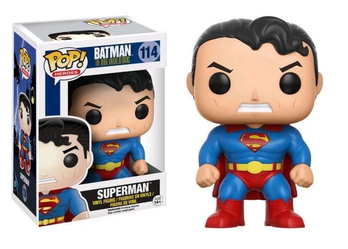 """Pop! Фигурка Супермена из мультика """"Возвращение Тёмного рыцаря"""""""