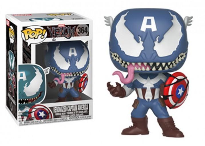 Pop! Фигурка Капитана Америка под действием Венома
