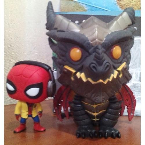 Человек-паук и Смертокрыл, оригиналы