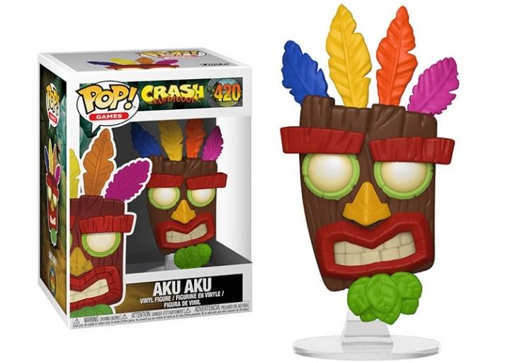 "Pop! Фигурка Аку Аку из игры ""Crash Bandicoot"""