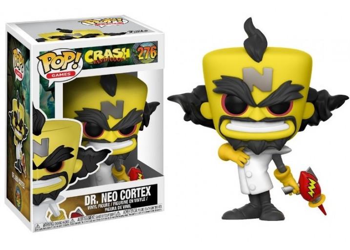 """Pop! Фигурка доктора Нео Кортекса из игры """"Crash Bandicoot"""""""