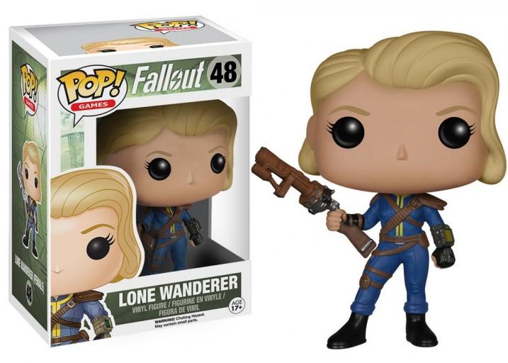"""Pop! Фигурка Одинокой Странницы из игры """"Fallout"""""""