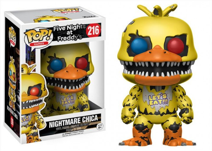 "Pop! Фигурка Кошмарного Чики из игры ""Five Nights at Freddy's"""