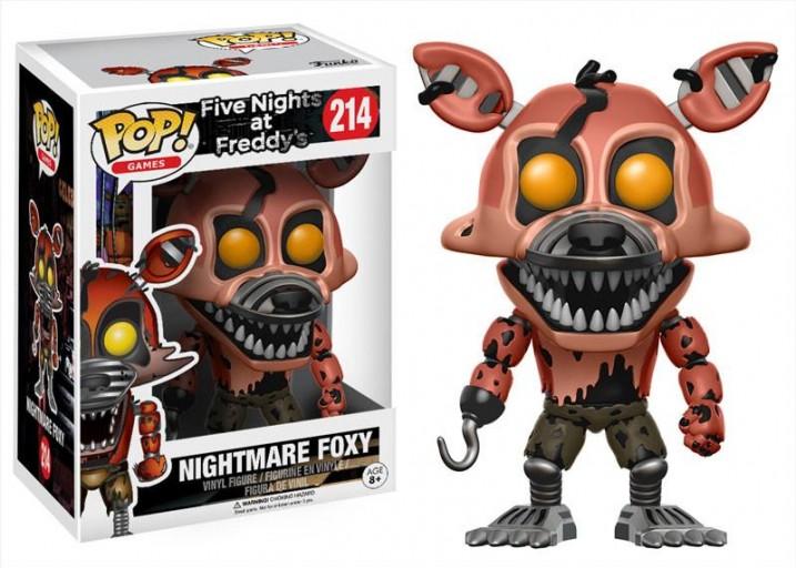 "Pop! Фигурка Кошмарного Фокси из ""Five Nights at Freddy's"""