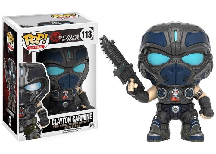 """Pop! Фигурка Клейтона Кармайна из игры """"Gears of War"""""""