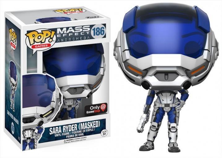 "Pop! Фигурка Сары Райдер в шлеме из игры ""Mass Effect"""