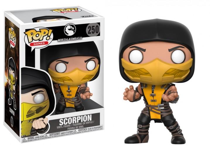 """Pop! Фигурка Скорпиона из игры """"Mortal Kombat X"""""""