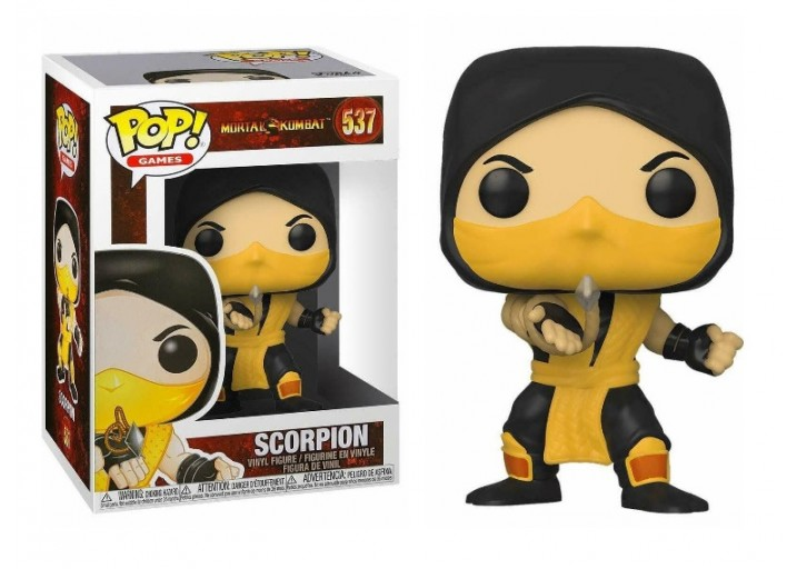 """Pop! Фигурка Скорпиона из игры """"Mortal Kombat"""""""