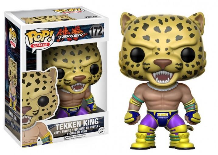 """Pop! Фигурка Кинга из игры """"Tekken"""""""