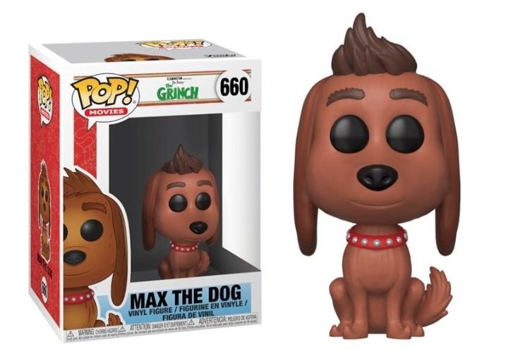 """Pop! Фигурка пёсика Макса из фильма """"Гринч - похититель Рождества"""""""