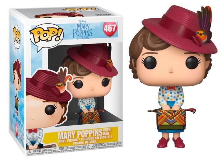 "Pop! Фигурка Мэри Поппинс с сумкой из фильма ""Mary Poppins"""