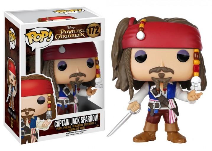 """Pop! Фигурка капитана Джека Воробья из фильма """"Пираты Карибского моря"""""""