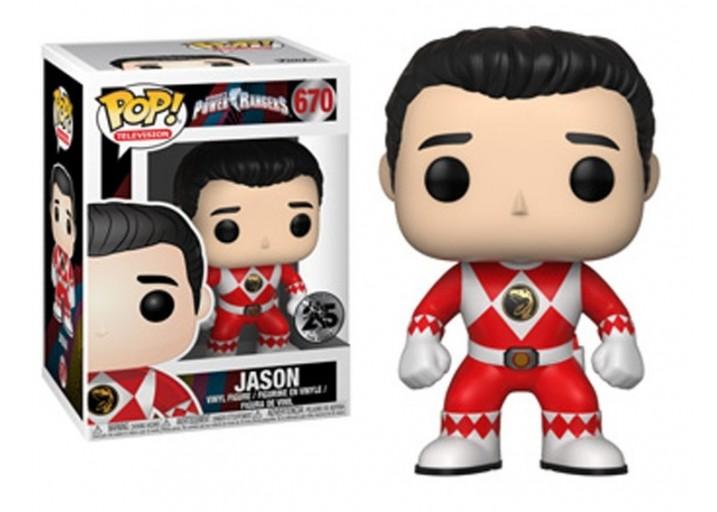 """Pop! Фигурка Джейсона из сериала """"Могучие рейнджеры"""""""