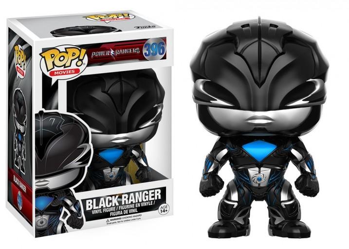 """Pop! Фигурка Чёрного рейнджера из фильма """"Могучие рейнджеры"""""""