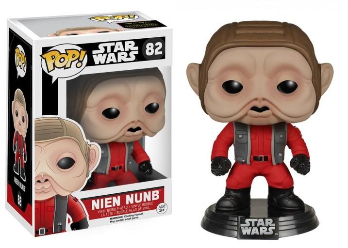 """Pop! Фигурка Ниена Нунба из фильма """"Звёздные войны"""""""